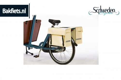 """Bakfiets - Strapazierfähige Packtasche <br><h6><span style=""""color: #E74E0F;"""">Bestellware</span></h6>"""