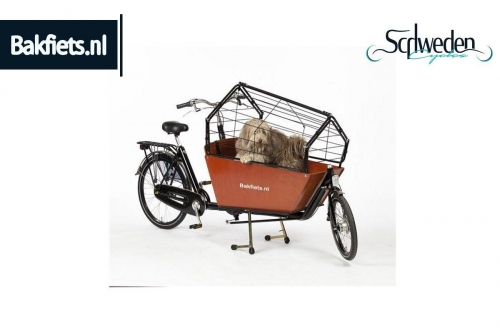 "Bakfiets - Hundetransportbox <br><h6><span style=""color: #E74E0F;"">Bestellware</span></h6>"