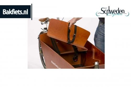 """Bakfiets - zusätzliche Sitzbank <br><h6><span style=""""color: #E74E0F;"""">Bestellware</span></h6>"""