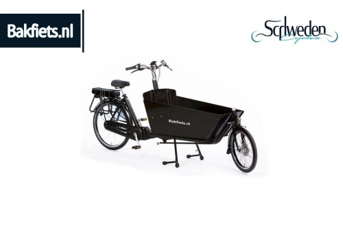 "Bakfiets - CargoBike Classic Long Steps <br><span style=""color: #E74E0F"">Bestellware</span>"