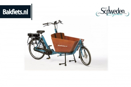 "Bakfiets - CargoBike Classic Short Steps NN7 <br><span style=""color: #E74E0F"">Bestellware</span>"