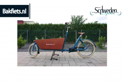 "Bakfiets - CargoBike Cruiser Long Steps <br><span style=""color: #E74E0F"">Bestellware</span>"