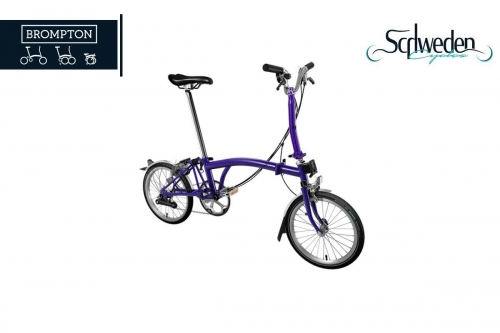 "Brompton - M6 <br><h6><span style=""color: #8CC63F;"">am Lager</span></h6>"
