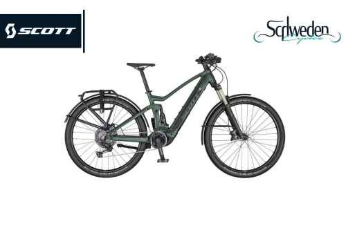 """Scott - Axis eRide Evo Bike <br><h6><span style=""""color: #8CC63F;"""">am Lager</span></h6>"""